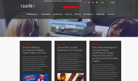 RadioFragola-Homepage