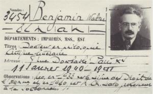 Walter Benjamin - immagine da Radio Fragola